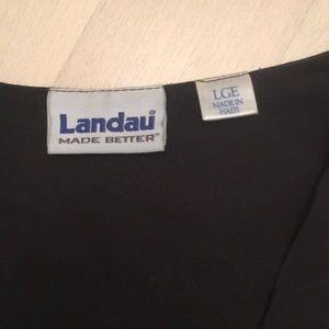 Landau Other - Medtronic Black Scrubs Set